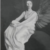 Angel in Black and White (portrait study af. Abbott Thayer)